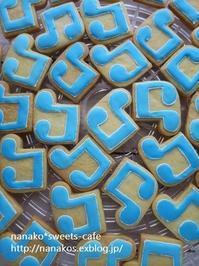 音符のアイシングクッキー ♬ - nanako*sweets-cafe♪
