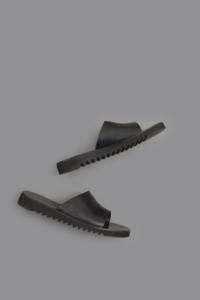 NUOVO NICAR  Leather Sandals (Black) - un.regard.moderne