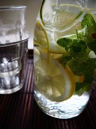 レモンミント水 - Kitchen diary