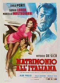 あゝ結婚 (Matrimonio all'italiana)  - amore spacey