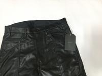 bukht BACK SLIT LEATHER PANTS - Lapel/Blog