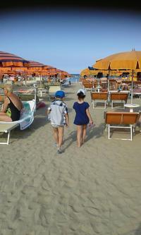 夏休み前半、その②ラベンナの海と遊園地 - ボローニャとシチリアのあいだで2
