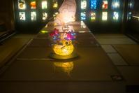 和のあかり×百段階段展2017 ~日本の色彩 日本の意匠~ 静水の間 - 光の贈りもの