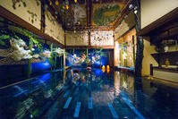 和のあかり×百段階段展2017 ~日本の色彩 日本の意匠~ 頂上の間 - 光の贈りもの