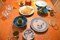 餃子/焼き鯵ときゅうりのさっぱり和え/モノとの関係 - まほろば日記