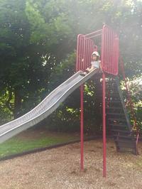 公園 - 烏帽子への風