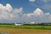 2017宮古空港 その2 JTA B737-800のタキシングとテイクオフ - 南の島の飛行機日記