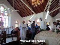 セントエリザベスへ、お葬式 - ジャマイカブログ Ricoのスケッチ・ダイアリ