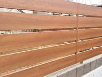 木調フェンスフレイナY3型 - 横浜の外構エクステリア&ガーデニングのヨコハマリード☆