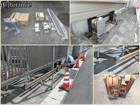 7/26・白子・H施設(ゲート修理) - とり三重成るままにsince2004