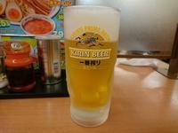 7/30 エビ辛とんこつつけ麺大盛り餃子セット¥770 + 生ビール¥310 - 無駄遣いな日々