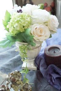 楽しいキッズレッスン♪ - お花に囲まれて
