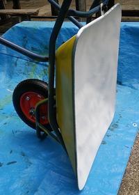 一輪車塗装、車輪交換 - hills飛地 長距離自転車乗り(輪行含む)の日誌