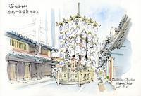 祇園祭21日の浄妙山 - 風と雲