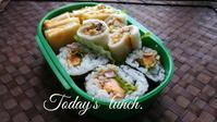 息子の塾弁当 - 料理研究家ブログ行長万里  日本全国 美味しい話