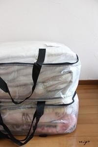 IKEAで衝動買いしたお勧め収納袋と進化した100均の圧縮袋♪ - neige+ 手作りのある暮らし