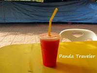 朝ご飯はランブトリ通りの「Gecko Bar」で - 酒飲みパンダの貧乏旅行記 第二章
