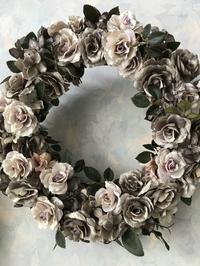 アンティークローズのリース - 妖精と過ごす花のある暮らし