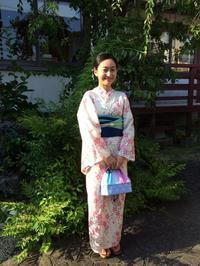 2017.7.28 お客様のご紹介です - 伊勢のレンタル着物 夢小町のブログ