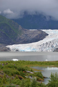 7月10日(月)最初の寄港地ジュノーでどしゃ降り氷河見学。:ルビープリンセスアラスカクルーズ - あれも食べたい、これも食べたい!EX