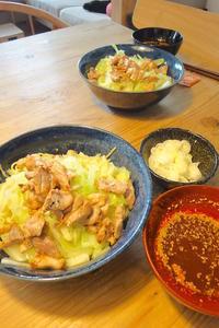 辛辛つけ麺広島流 〜旦那作 - 週末は晴れても、雨でも