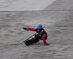 娘のスノーボード大会 - ricca*rocca