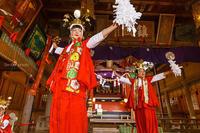 河口浅間神社・太々御神楽祭「稚児の舞」 - SENBEI-PHOTO