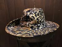 神戸店8/2(水)ヴィンテージ入荷! #2 50's Leopard/Panther Camo Cowboy Hat!Army Item!!! - magnets vintage clothing コダワリがある大人の為に。