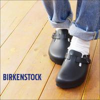 BIRKENSTOCK [ビルケンシュトック正規販売店] BOSTON schmal [060193] ボストン・クロッグタイプ・レザーサンダル LADY'S - refalt   ...   kamp temps