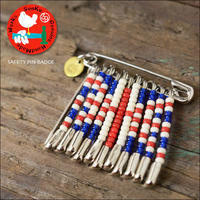 Sunku 39 [サンク] SAFETY PIN BADGE / UNION JACK [SK-199-UNJ] セーフティーピンバッジ MEN'S/LADY'S - refalt   ...   kamp temps