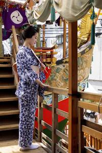 祇園祭2017 祇園祭の華(船鉾にて・先斗町 あや葉さん) - 花景色-K.W.C. PhotoBlog