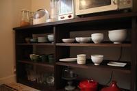 ブラウンの食器棚 - くうちん工房
