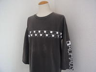 Vintage 90s BAUHAUS ヴィンテージ バウハウス カットオフ 古着 ポストパンク ゴス ロック ハンド Tシャツ - Used&Select 古着屋 コーナーストーン CORNERSTONE