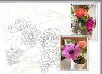 カラー画の作業工程 3 - 山田南平Blog