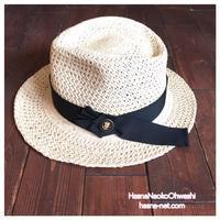 メッシュのパナマハットのカスタムオーダー - オーダーメイド帽子店と帽子教室 ハスナショップクチュリエ&手芸教室とギフト雑貨 Paraiso~パライーゾ楽園 Blog