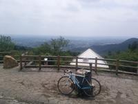 今日は、愛宕山のみ - 自転車走行中(じてんしゃそうこうちゅう)