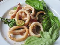 烏賊とバジルのガーリック炒め - やせっぽちソプラノのキッチン2