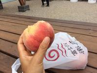 N  富士川楽座で 桃を買う  の巻 - Hawaiian LomiLomi  ハワイのおうち 華(レフア)邸