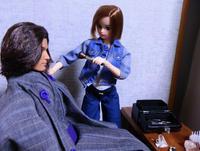 人形コント:其の41「オペラ座劇団にて」 - 粘土天国