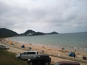相賀の浜海水浴場 - tekotanのあしあと