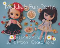 8/27(日) Middie's Fun Party! @Junie Moon大阪 に参加いたします☆ - Decoration Box