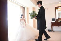 新郎新婦様からのメール 帝国ホテルの花嫁様より 緑をいっぱいにあふれるほどに  - 一会 ウエディングの花