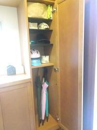 傘の置き方の工夫&おすすめ靴磨き - 片づけで、すっきり暮らし。