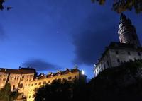 チェコの世界遺産「チェスキークルムロフ」の夕暮れと夜景の美しさ。 - 田原昌のブログ(旧高斗連絡帳)