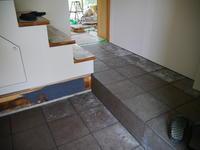 タイル工事 - small space ・・・小さな白い家・・・