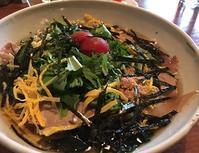 一人席で韓国冷麺 - Kyoto Corgi Cafe