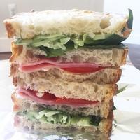 お弁当のサンドイッチ - 烏帽子への風