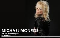 Michael Monroeの来日公演が12月に決定 - 帰ってきた、モンクアル?