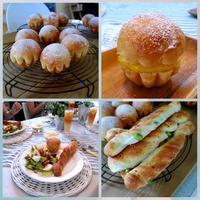 パン教室A & 和心 こざる - キューニーの食卓