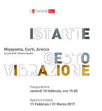ISTANTE GESTO VIBRAZIONE - Change by Gradation